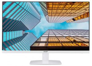 Acer 21.5 Inch Full HD IPS Ultra Slim (6.6mm Thick) Monitor I Frameless Design I AMD Free Sync I Eye Care Features I Stereo Speakers (HA220Q)
