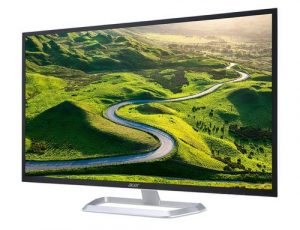 Acer 31.5 inch 2560 x 1440 WQHD IPS Panel Monitor - Eye Care Features, Blue Light Filter, Flickerless - EB321HQU (Black)
