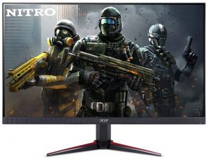 Acer Nitro 23.8 inch Full HD 1920 x 1080-0.5 MS Response Time - 165 Hz Refresh Rate IPS Gaming Monitor with AMD Radeon Free SYNC Technology -2 X HDMI 1 X Display Port