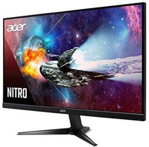 Acer Nitro QG221Q 21.5 Inch Full HD Gaming Monitor - VA Panel - 1 MS - 75 Hz - 250 Nits - AMD Free Sync - 1 X VGA 2 X HDMI - QG221Q (Black)