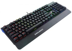 Ant Esports MK3400W V2 Mechanical Pro World of Warship Edition Wired RGB Gaming Keyboard with Blue Switches