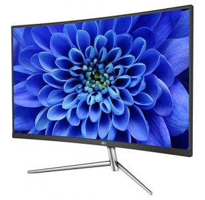 "AOC C24V1H/WS 23.6"" Curved LCD Monitor with LED Backlights with VGA Port, HDMI Port"
