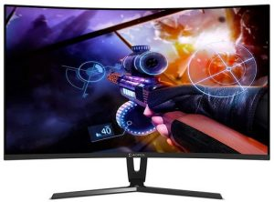 AOPEN 27 inch Full HD 1800R Curve Gaming Monitor I VA Panel I 144Hz Refresh Rate I 4 MS Response Time I AMD Free Sync I Eye Care Features I 27HC1R (Black)