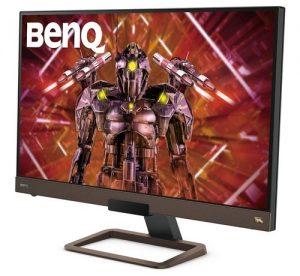 BenQ EX2780Q 27 Inch QHD 1440p IPS 144Hz Gaming Monitor | HDRi | DCI-P3 | 2.1 Channel Speaker & 5 Watt Sub | Metallic Base