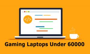 gaming laptops under 60000