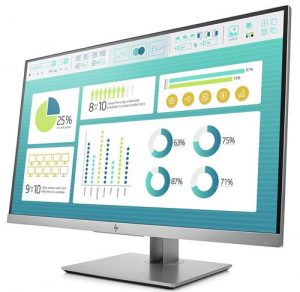HP EliteDisplay 27-inch (68.58 cm) Anti Glare IPS Full HD Monitor with VGA - E273 (Black/Silver)