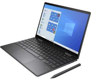 HP Envy x360 Convertible Touchscreen 13.3-inch FHD Laptop (3rd Gen Ryzen 5 4500U/8GB/512GB SSD/Win 10 Home/Night Fall Black/1.32kg), 13-ay0045AU