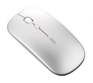 Wireless Mouse,Inphic Slim Rechargeable Mouse Silent Click 2.4G Wireless Mice 1600DPI Mini Optical Portable Travel Cordless Mouse with USB Receiver for PC Laptop Computer Mac MacBook (Silver)