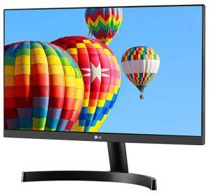 "LG 54.6 cm (21.5"") Full HD (1920 x 1080) Slim IPS Panel Monitor, HDMI x 2 & VGA Port, 56-75 Hz Refresh Rate & AMD Freesync - 22MK600M (Black)"