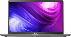 LG Gram 10th Gen Intel Core i5-1035G7 14-inch IPS Full HD (1920X1080) Thin and Light Laptop (8GB/256GB SSD/Windows 10 64-bit/Dark Silver/999gms), 14Z90N