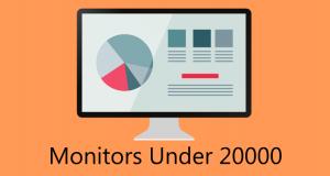 monitor under 20000
