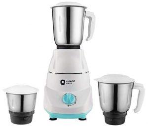 Orient Electric Kitchen Kraft MGKK50B3 Mixer Grinder, 500W, 3 Jars