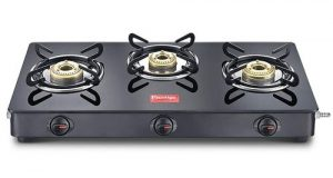 prestige magic glass top gtmc 03 3 brass burner gas stove