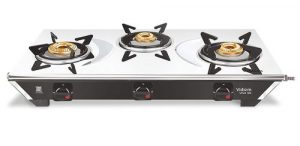 vidiem gs s3 179 a viva ss 3 burner frameless stainless steel gas stove black
